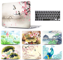 Paint Laptop Protective Hard Shell Case Keyboard Cover Skin Set Pouch For 11 12 13 15″Apple Macbook Air Pro Retina Touch Bar SS
