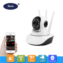 hot deal buy n_eye baby monitor wifi camera 1080p 3mp smart dome ptz ip camera phone remote control video record home wireless ip camera q8
