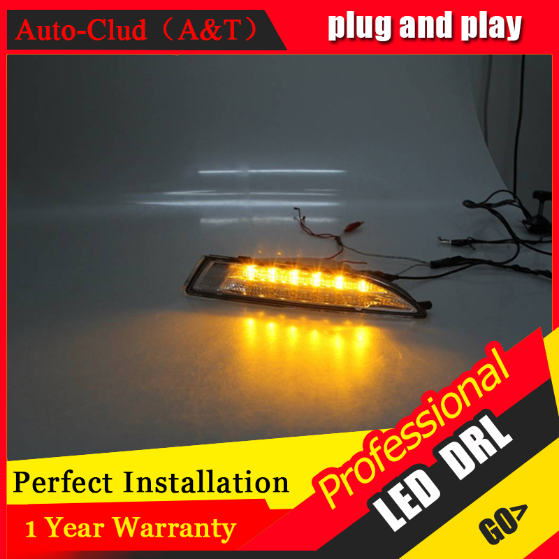 Auto Clud car styling For VW Scirocco LED DRL For Scirocco High brightness guide LED DRL led fog lamps daytime running light B s car styling for nissan sunny led drl for sunny r led fog lamps daytime running lights high brightness guide led drl
