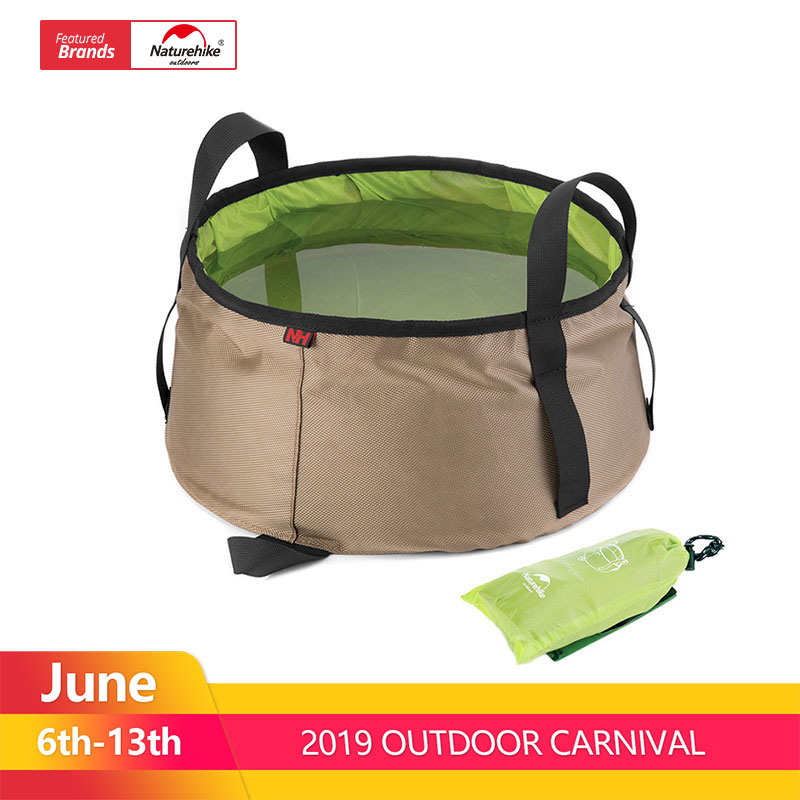 NatureHike Portable Outdoor Travel Folding Water Bucket Washbowl Fishing Bucket Water Pot Hiking CampingNatureHike Portable Outdoor Travel Folding Water Bucket Washbowl Fishing Bucket Water Pot Hiking Camping