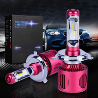 A2 H4 Car Styling 12V LED Car Headlights CSP H4 H7 Auto Head Lamp Lights 50W