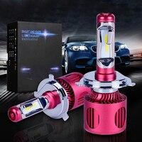 A2 H4 Car Styling 12V LED Car Headlights CSP H4 H7 Auto Head Lamp Lights 50W
