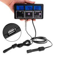 6in1 Monitor de Qualidade Da Água Tester pH EC CF TDS Medidor de Temperatura Da Água Do Aquário