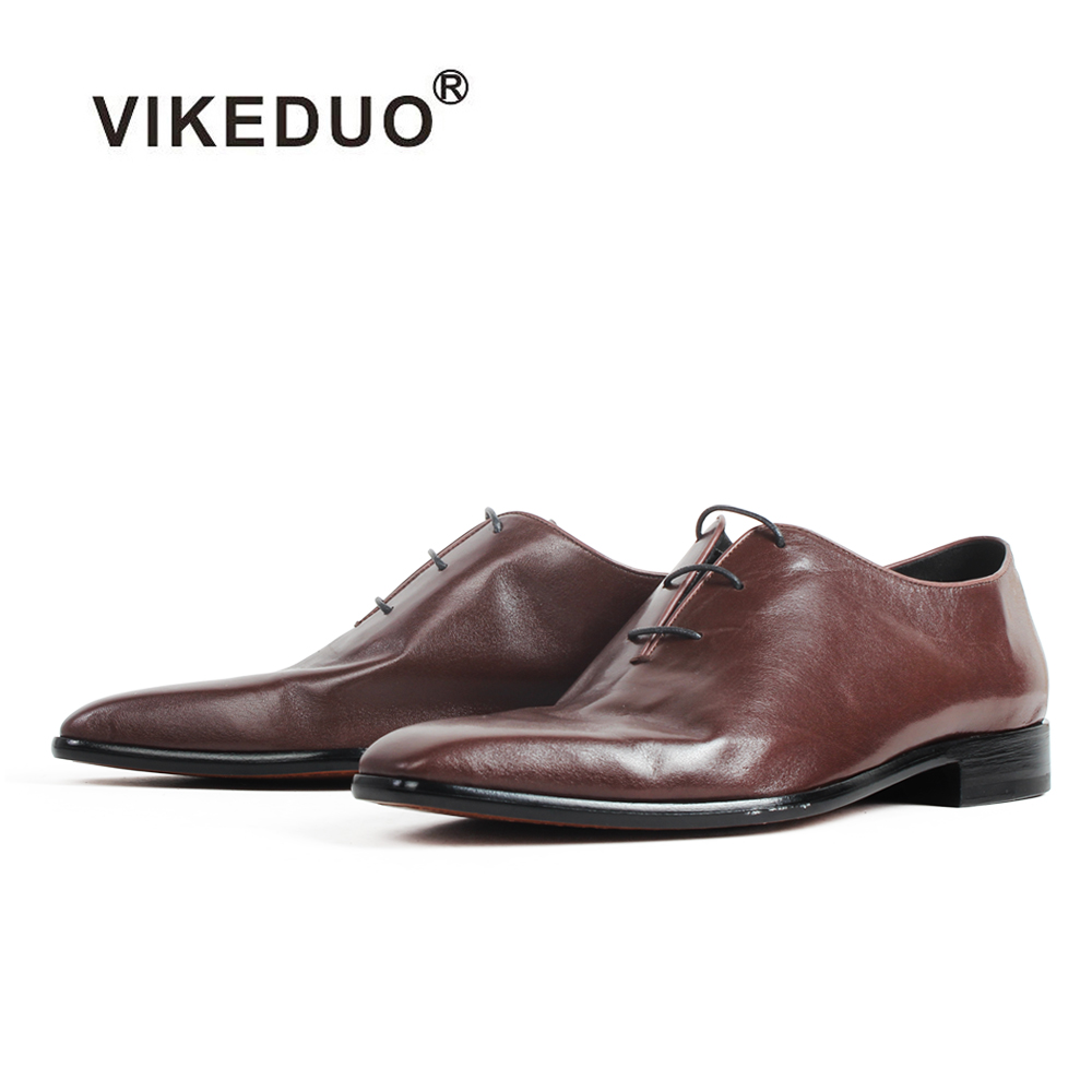 VIKEDUO New Arrival Men's Special Kangaroo Skin Shoes Handmade Bespoke Patina Oxford Shoes Male Wedding Office Zapato de Hombre