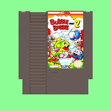 Venda melhor Bubble Bobble 2 Jogo De Cartas Para 72 Pin 8 Bit Game Player