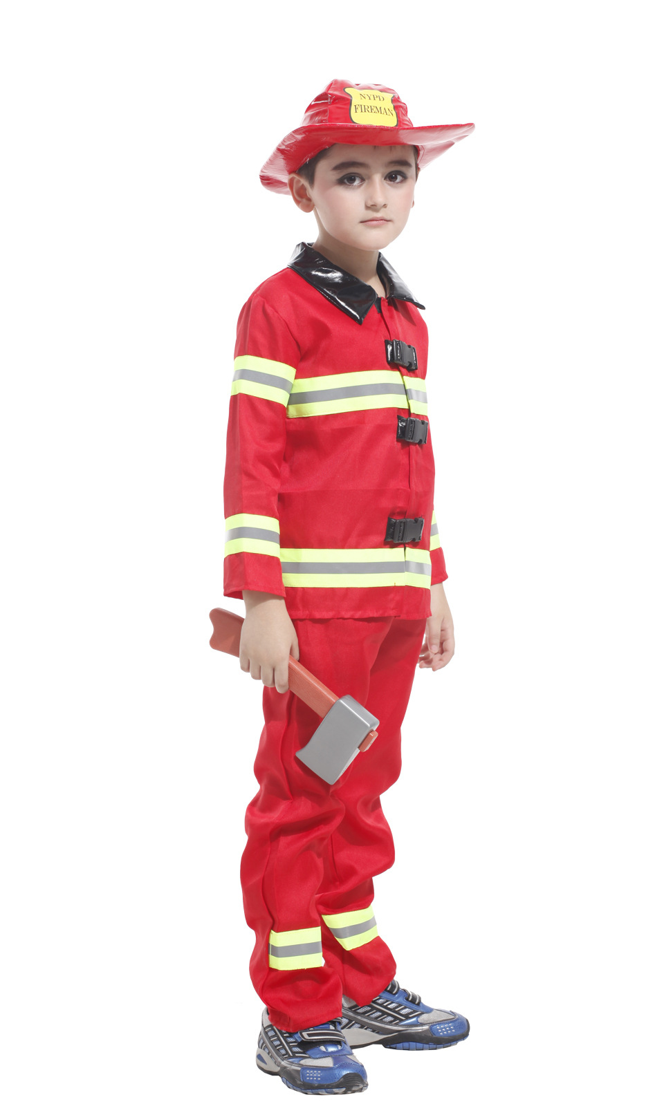 Smart M~xl New Fireman Boys Cosplay Hallowean Children Dress Up Party Fancy Stage Carnival Costume Kids Firefighters Uniform Suit Costumes & Accessories