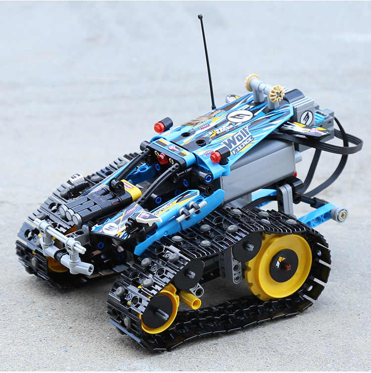 Decool Technic RC Remote-Controlled Stunt Racer Compatible legoly 42095 412pcs Building Block bricks Toys For Childrens Gifts