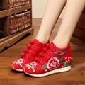 2017 Fashion Oxford Shoes For Women Flats Old Beijing Mary Jane Flats Casual Shoes Chinese Style Embroidered Cloth Shoes Woman