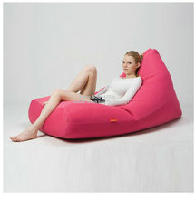 Pink outdoor sofa bean bag chair — good for your neck support external and living room furniture seat