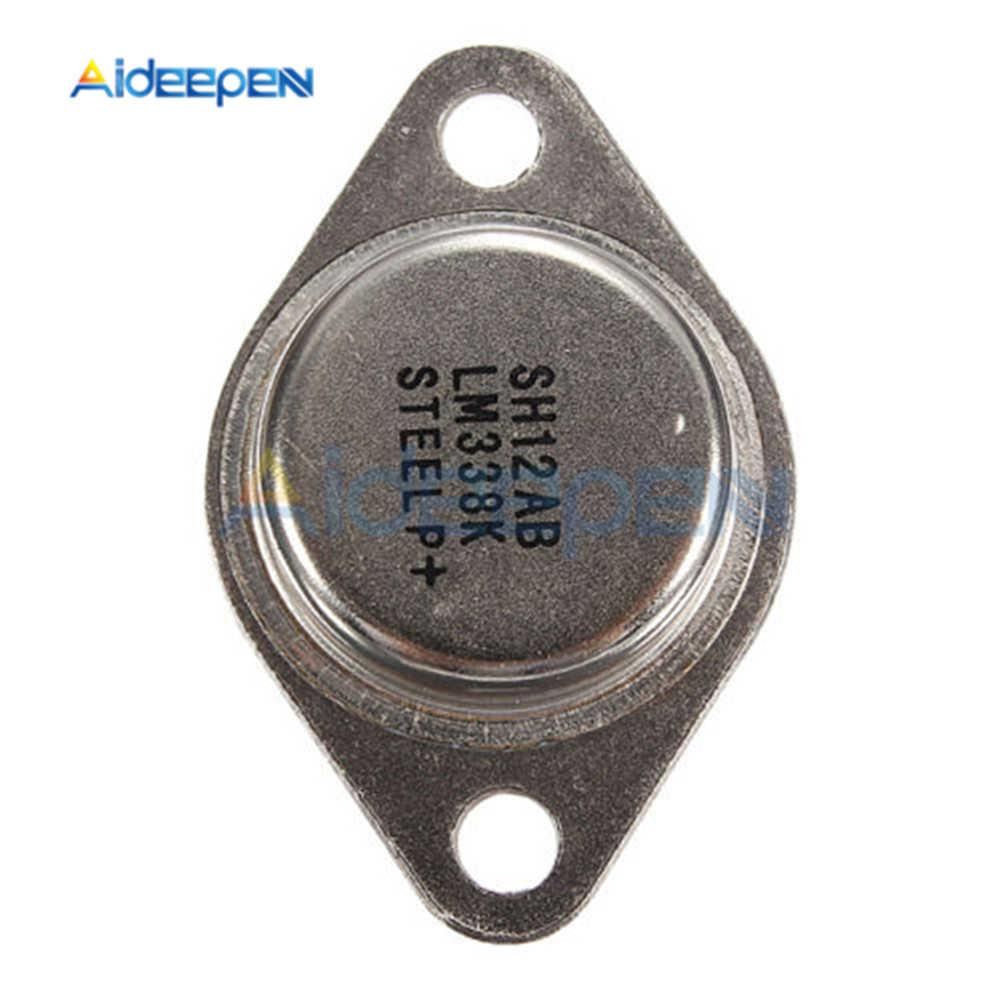 5 قطعة 5A LM338K LM338 قابل للتعديل منظم الجهد 1.2V إلى 32V