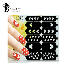 1PC Hollow Mickey Design Women Nail Foils Sticker Stencil Airbrush L073 Manicures Paint Polish Tips Guide Decal for Gel Nail Art