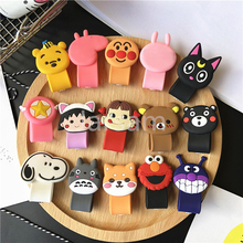 Cartoon Cable Protector Data Line Cord Protector Protective Case Cable Winder Cover For iPhone USB Charging Cable For iPhone 8