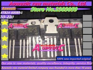 Image 2 - Aoweziic 100% new imported original BTB24 BTB24 600BRG BTB24 600B BTB24 600BWRG BTB24 600BW  TO 220 triac 25A/600V