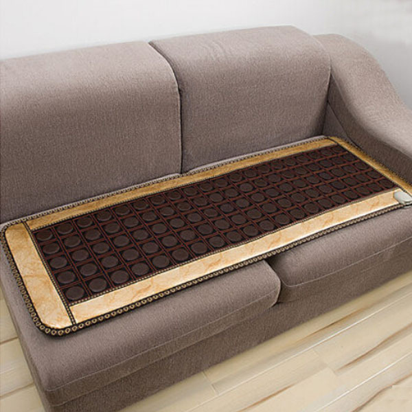 Free Shipping Natural Tourmaline Heated Cushion Germanium Tourmaline Mats Physical Therapy Mat Heated Mat for Health Care best selling korea natural jade heated cushion tourmaline health care germanium electric heating cushion physical therapy mat
