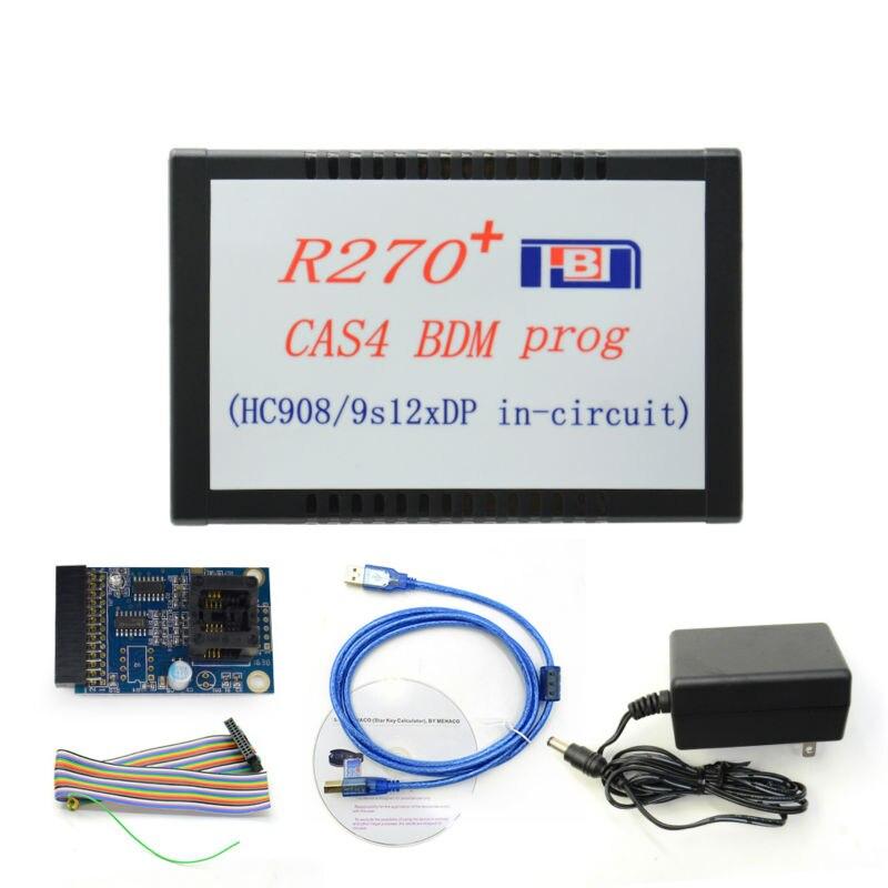 imágenes para R270 + V1.20 Auto CAS4 BDM Programador de R270 CAS4 BDM prog Programador Profesional clave para bmw envío libre