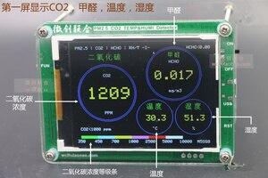 Image 3 - Бесплатно M5S с формальдегидом CO2 TVOC данные о температуре и влажности экспорт PM2.5 CO2 TVOC детектор температуры и влажности PM2.5 датчики тумана