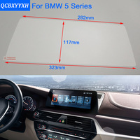 Car Styling 10 2 Inch GPS Navigation Screen Steel Protective Film For BMW 5 Series Control
