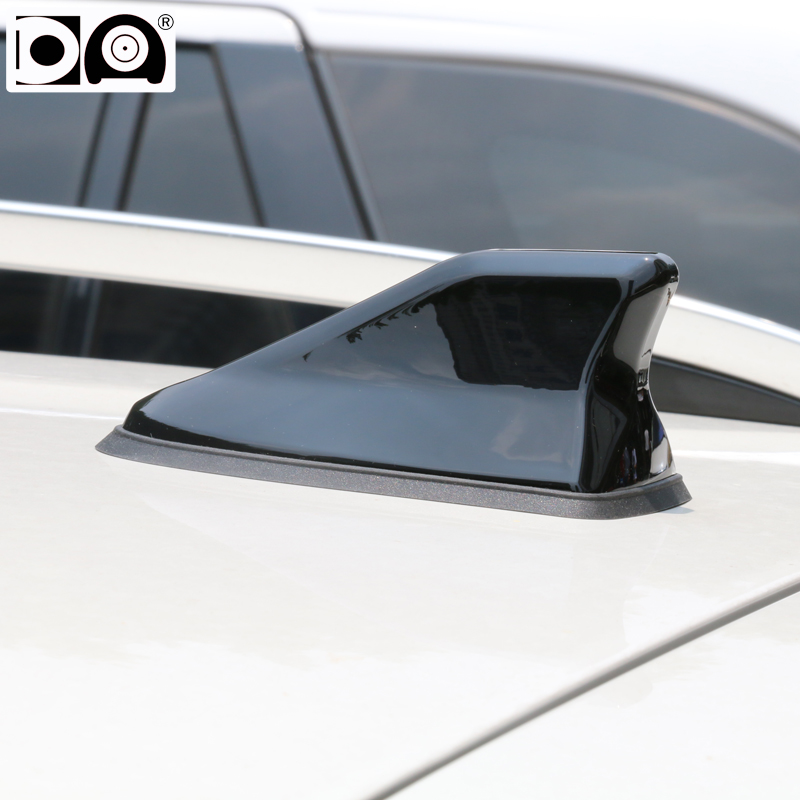 цена на Waterproof shark fin antenna special auto car radio aerials Stronger signal Piano paint for Honda Jazz