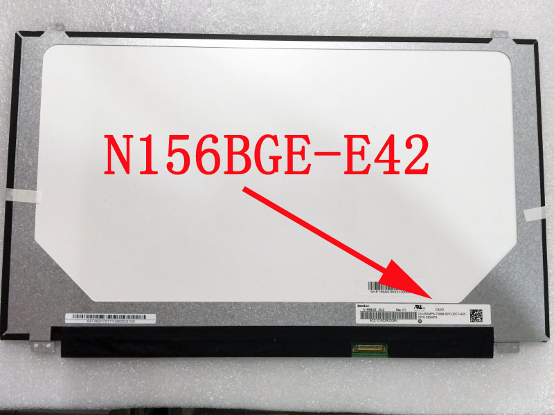 N156BGE-E42 for Acer Aspire ES1-520-593A LCD Screen LED Display Laptop Slim Matrix HD 1366*768 30pin eDP N156BGE E42 gread a 15 6 laptop lcd screen for acer aspire e15 e5 573g series led 30pins edp display panel slim