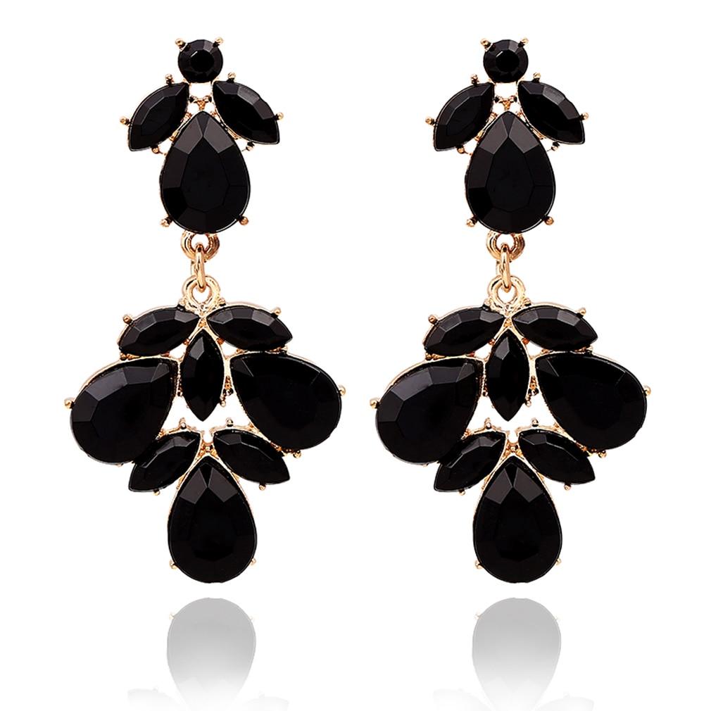 Gold Evening Earrings Topearrings
