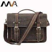 leather Shoulder briefcase Messenger