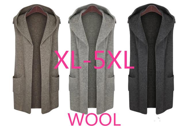 Otoño invierno informal chaqueta de punto chaleco de las mujeres más el tamaño de mujer ropa de invierno suéteres 2016 mujeres de moda a juego suéteres de navidad