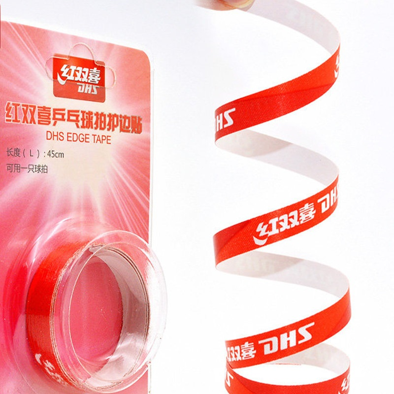 2pcs DHS Original Protective Edge Tape For Table Tennis Racket Professional Ping Pong Accessories Tenis De Mesa