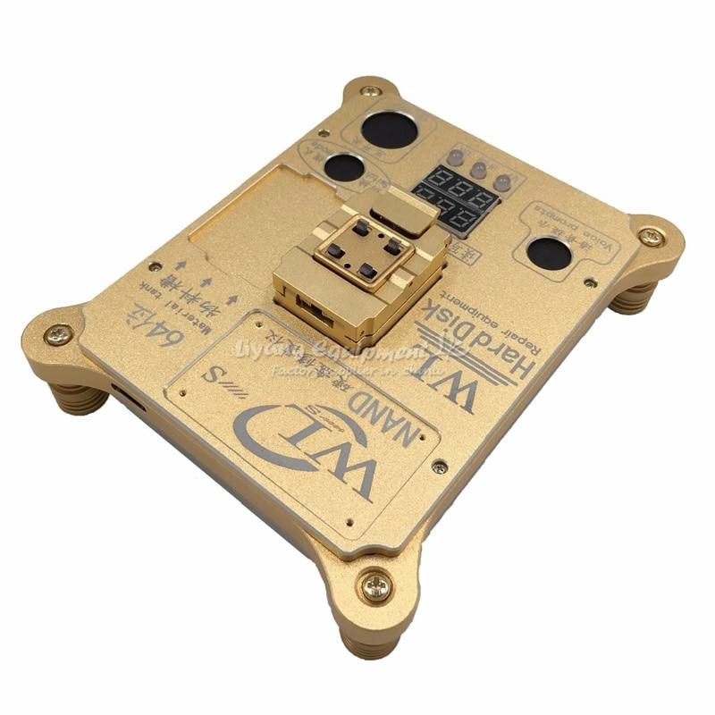 WL 64 Bit hard disk test IC Chip Mainboard Nand Flash Programmer HDD Serial Number SN
