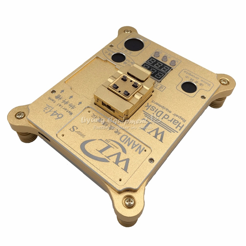 WL 64 Bit hard disk test IC Chip Mainboard Nand Flash Programmer HDD Serial Number SN for iPhone 5S to 6 Plus
