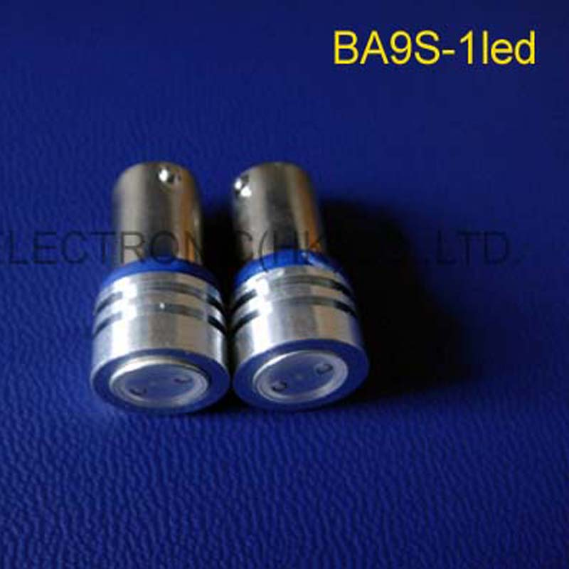 High power 6V 1W BA9S led warning lights,BA9S led Dashboard Warning Indicator 6v 1w LED indicating lamp free shipping 10pcs/lot image