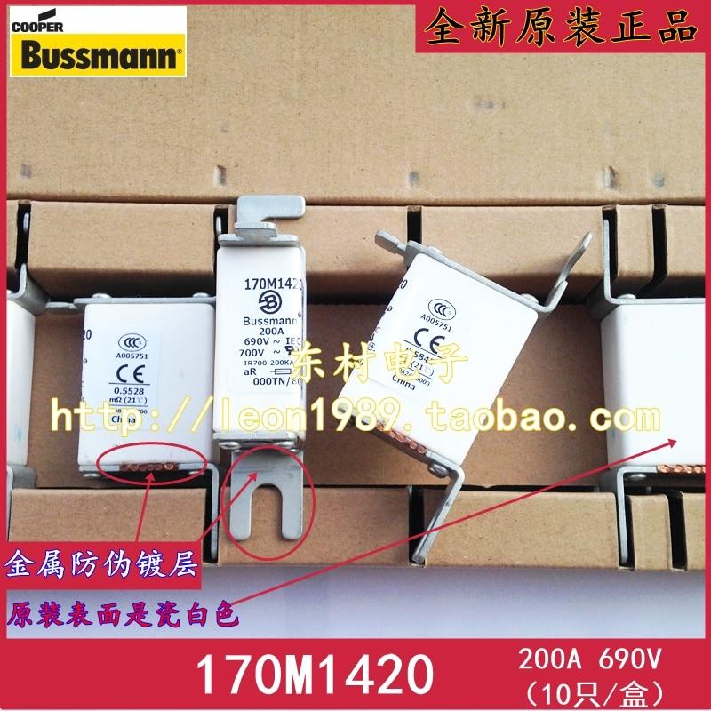 цена на [SA]United States BUSSMANN Fuses 170M1420 170m1320 200A 690V 700V fuse--3PCS/LOT