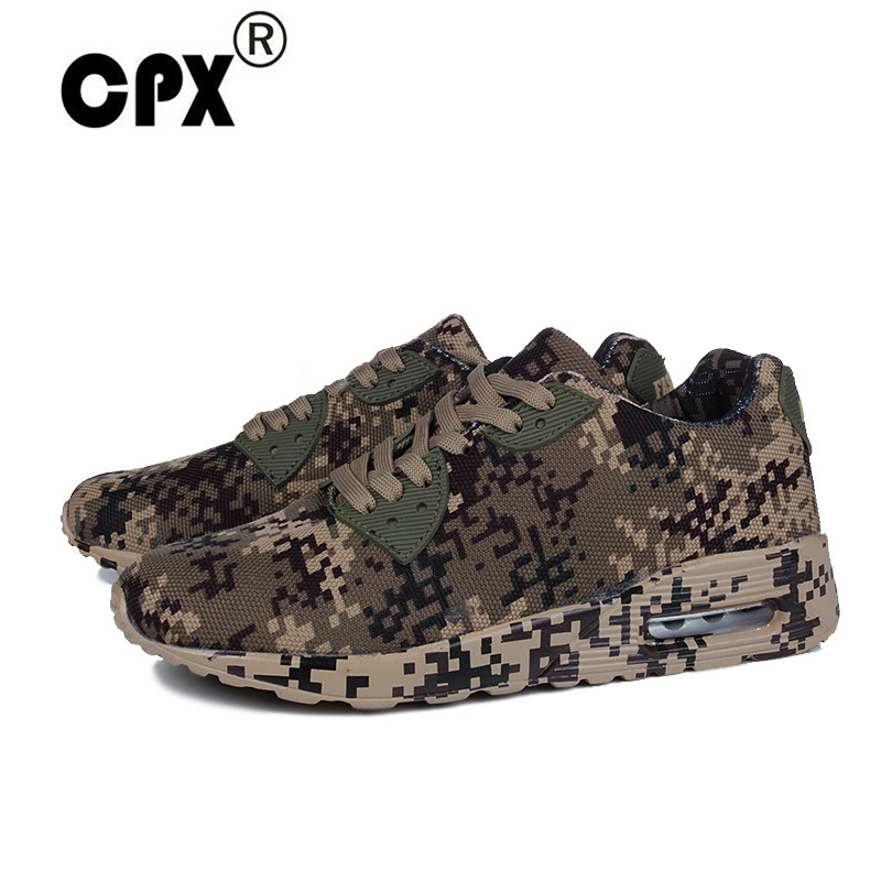 CPX running shoes for men women Sneakers Couples Sport  Zapatillas Outdoor max size 46 Camouflage Breathable Trainer Shoes
