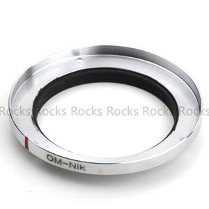 Image 4 - Pixco om nik Focus Infinity adaptador de montaje para lentes de 3 tornillos, traje para lente Olympus SLR a cámara Nikon D750 D810 D4S