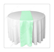 36 Piece Table Runner Apple Green For Wedding FREE SHIPPING