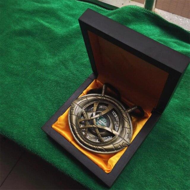 Кулон Доктор Стрэндж Глаз Агамотто в подарочной коробке 5