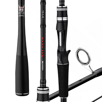 Super Hard Sea Lure Rod Ultra-light 2.1M 2.4M Spinning M MH Power Casting High Carbon Double Tips Bait casting Pole Olta