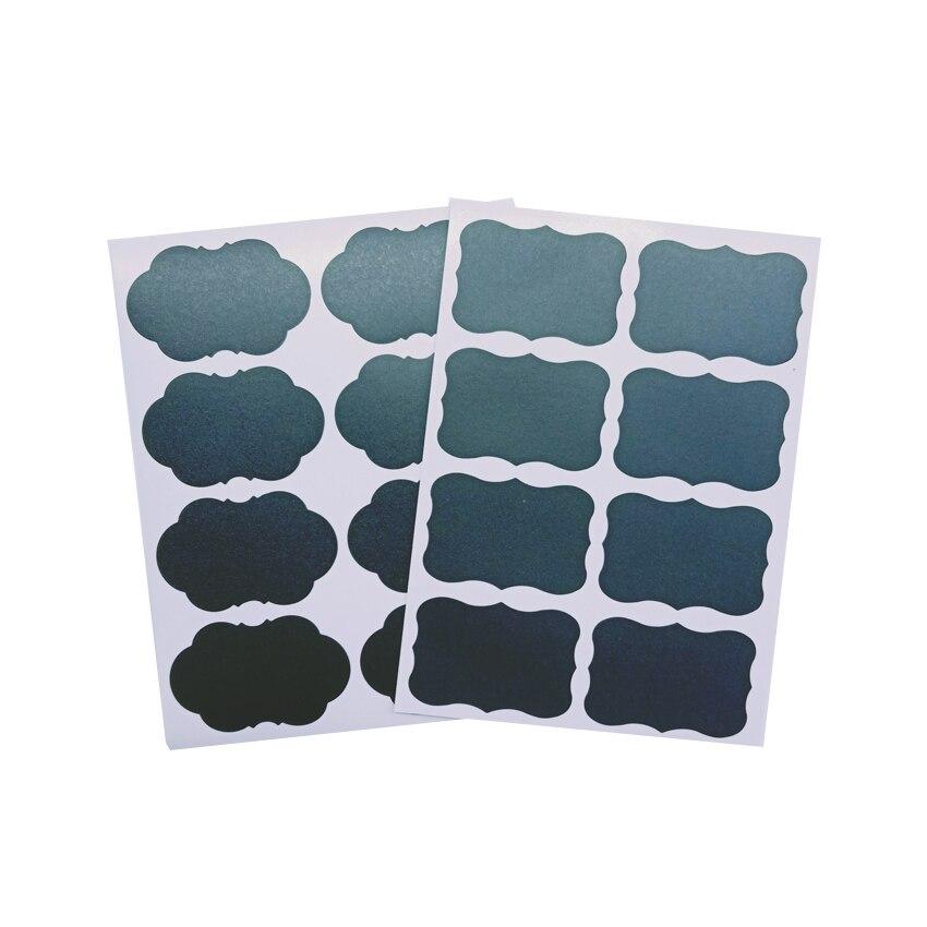 10 pacote lote blackboard etiqueta diy scrapbook pegajoso pacote etiqueta lugares colar etiqueta preta
