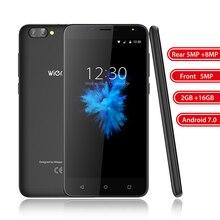 S6 5.5 pouce 4G Mobile Téléphone Double Arrière Caméra Android 7.0 MT6737 Quad Core 2 GB RAM 16 GB ROM Smartphone D'empreintes Digitales téléphone portable