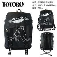 IVYYE Black Totoro Fashion Backpacks Rucksacks Cartoon School Backpack Casual student Bags travel Knapsack Unisex New