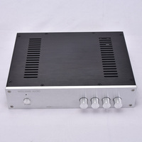 KYYSLB Amp Case Shell DIY Box 320*70*248MM All Aluminum Amplifier Chassis Housing 3207 A with Rubber Feet Power Socket