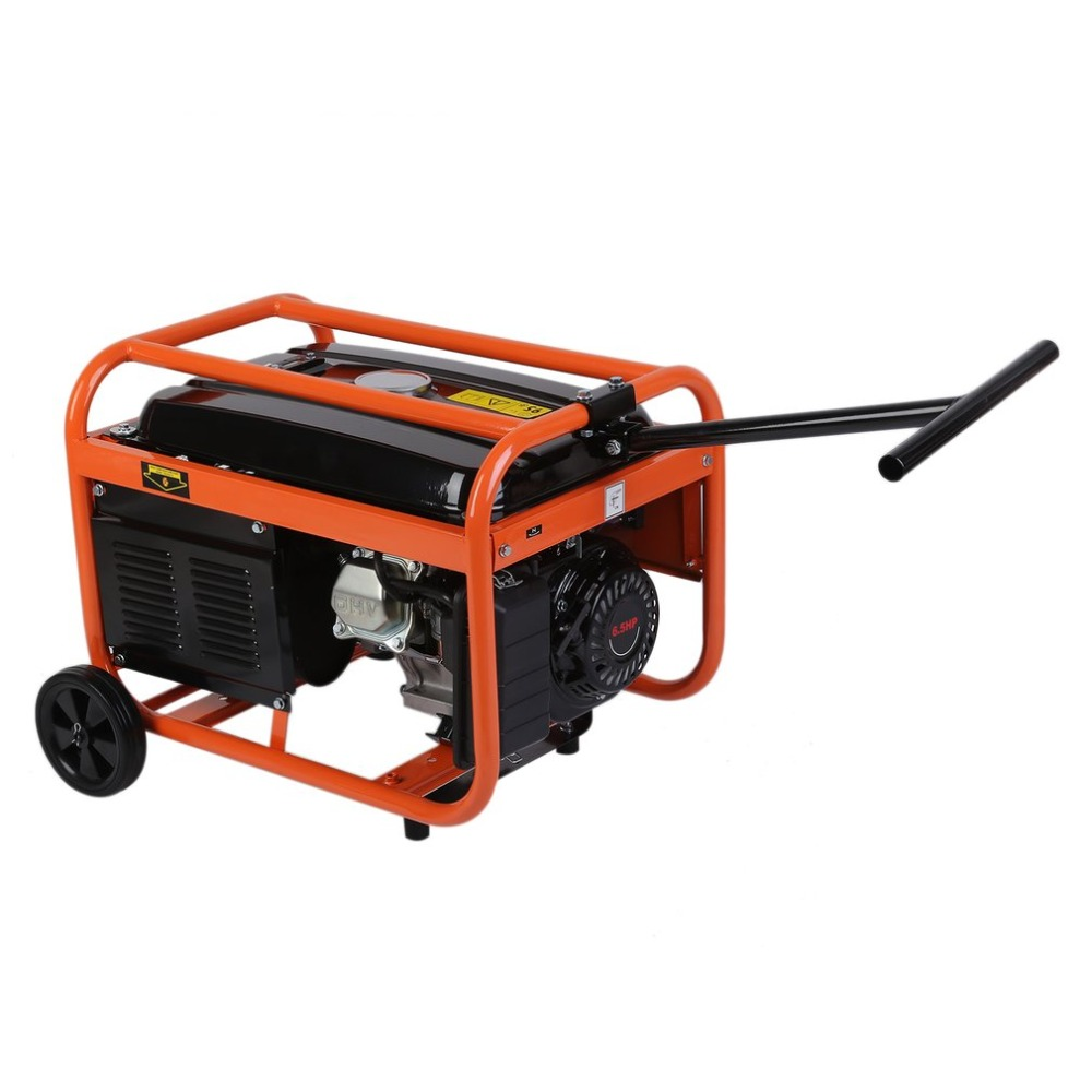 (Ship From UK)QS3000 1.5L Heavy Duty Portable Low Noise 4 stroke OHV Petrol Generator Gasoline Engine With Wheels Industry Use