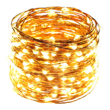 Warm White 50M 165Ft 500 Leds Copper Wire LED String Light Starry Lights with Power Adapter (UK,US,EU,AU Plug) 165ft 50m 500 leds 8 colors copper wire led string lights starry lights christmas fairy lights 12v power adapter remote control