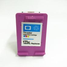 vilaxh 123 Color Compatible Ink Cartridge Replacement For HP 123 xl 123xl Deskjet 1110 2130 2132 2133 2134 3630 3632 3638 4520