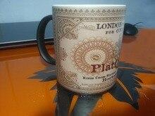 Tassen Ticket Hogwarts nach London 9 3/4 becher kaffeetasse verwandlungstasse neuheit wärme ändernde farbdruck gedruckt mugen