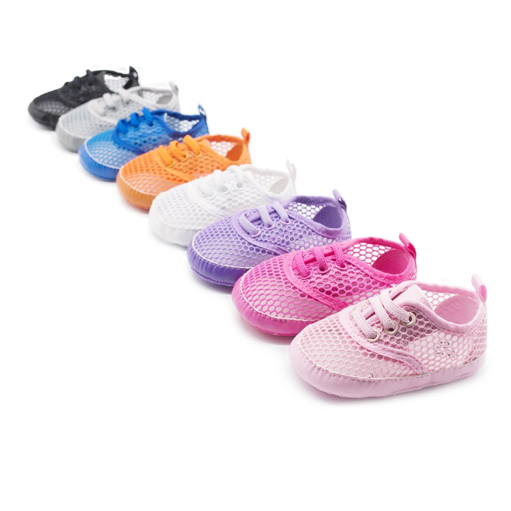 New Mesh Hollow Summer Infant Shoes Baby Soft Sole Crib baby Boys Girls Shoes Casual First Walkers kids shoes