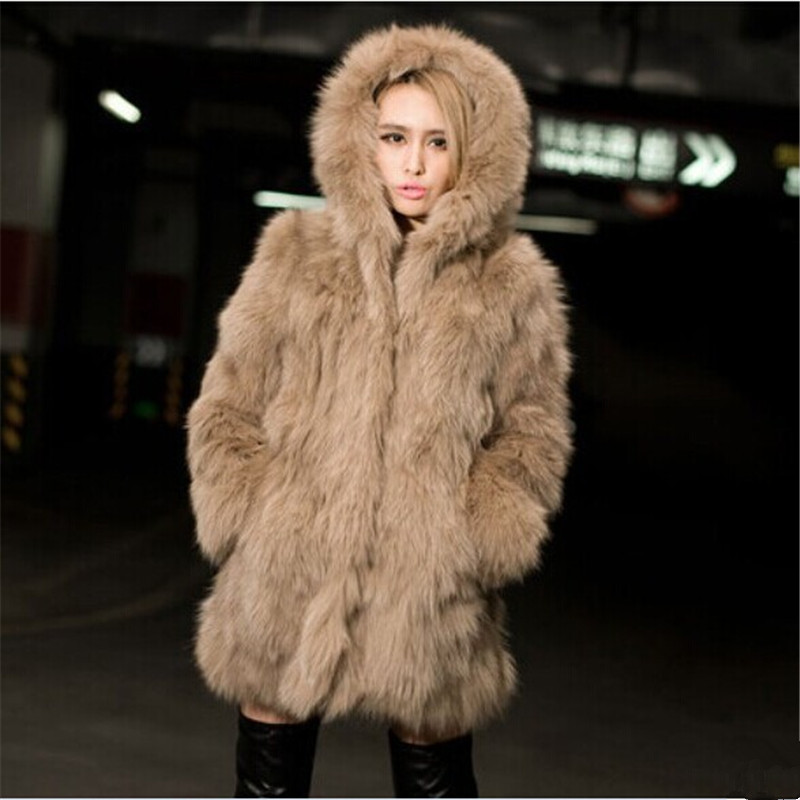 Aliexpress.com : Buy Winter Fur Coat Plus Size 3XL Women's Fox Fur ...