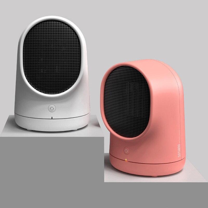 Économie d'énergie personnel chauffage bureau ménage Mini chauffage de bureau électrique hiver plus chaud ventilateur Air chauffage Portable 220 V