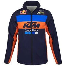 19 Motocross Sweatshirts Outdoor sports Softshell Jacket motorcycle racing jackets For ktm otorrad Motorspor Jacket Keep warm S(China)