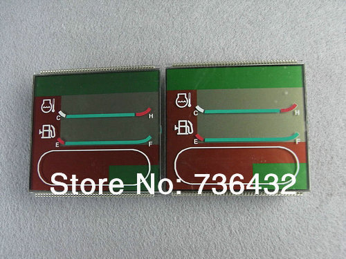 Free shipping! PC200-6 PC-6 single time lcd tablets - Komatsu excavator parts - digger display screen -Excavator accessories image