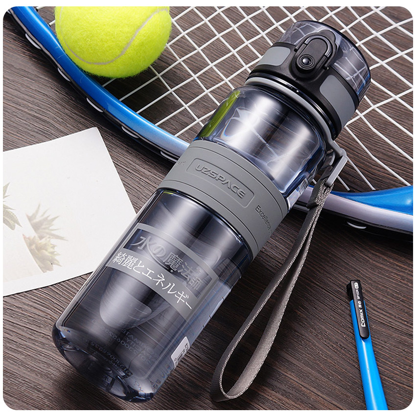 500/1000ml Water Bottles BPA Free Shaker Outdoor Sport Tour Drink Bottle Portable Leakproof Ecofriendly Plastic Fruit Tea Bottle